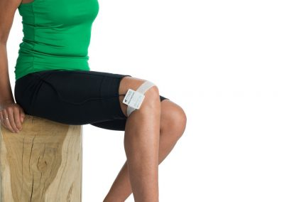 PEMF device FlexPulse Knee pain relief